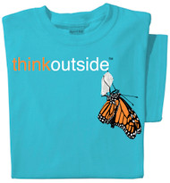 Organic Cotton ThinkOutside Monarch Ladies T-shirt
