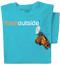 Pure Cotton Mountain Ladies T-shirt   ThinkOutside