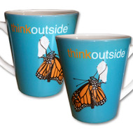 ThinkOutside Monarch Latte Mug