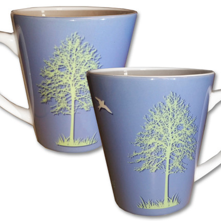 Tree Latte Mug | Think Outside | 12 oz. ceramic