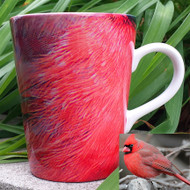 Cardinal Latte Mug | 12 oz. ceramic