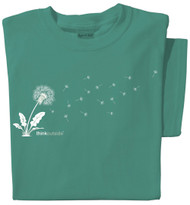 Organic Cotton ThinkOutside Dandelion Ladies T-shirt