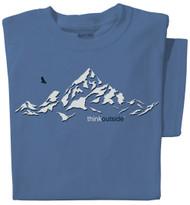 Organic Cotton ThinkOutside Mountain Ladies T-shirt