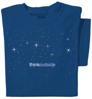 Organic Cotton Stars Ladies T-shirt | Big Dipper Constellation | ThinkOutside