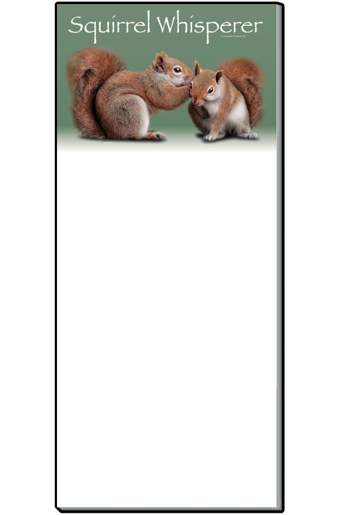 Squirrel Whisperer Notepad