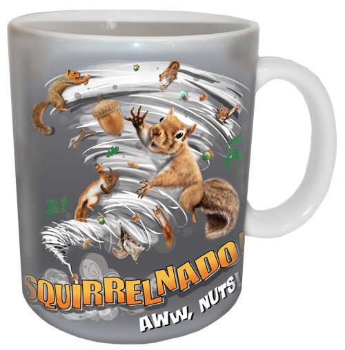 Squirrelnado Mug