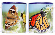 Large Monarch with Mixed Butterflies Mug | Butterfly Flag