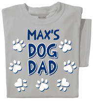 Dog Dad Personalized T-shirt
