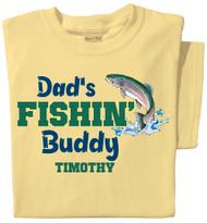 Fishin' Buddy Personalized Toddler T-shirt