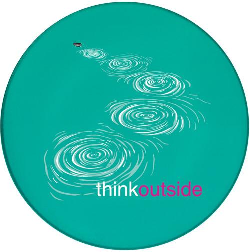 ThinkOutside Skipping Stones Sandstone Ceramic Coaster   Front