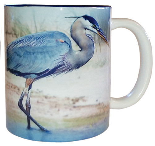 Blue Heron Mug | Jim Rathert Photography