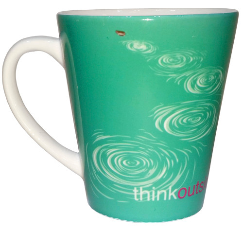 ThinkOutside Stone Skip Latte Mug | 12 oz. ceramic