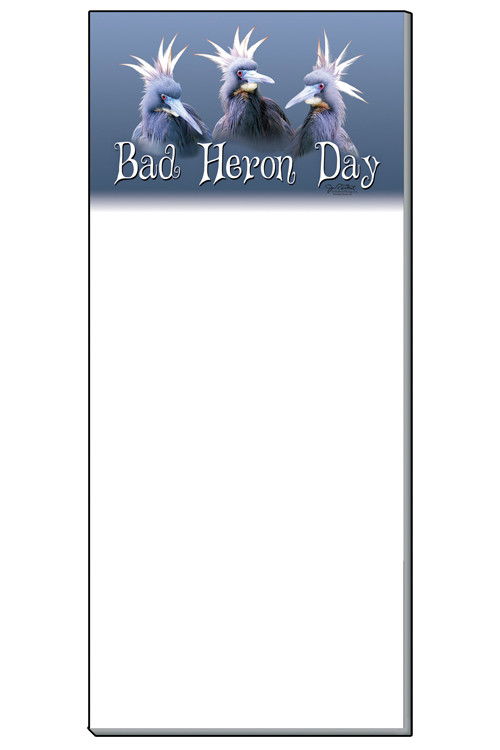 Bad Heron Day Notepad