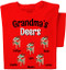 Christmas Deers T-Shirt | Personalized Title and Names