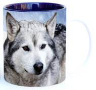 Timber Wolves in Snow Mug | Wolf Mug