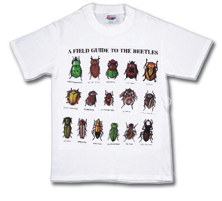 Field Guide to Beetles T-shirt