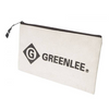 Canvas Zipper Bag 12IN x 7IN by Greenlee