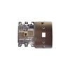 RJ11 Telephone 1 Port Wall Jack Stainless Steel Cover