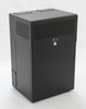8U + 4U Vertical MiniRaQ Secure - Compact with Vented Bottom by Black Hawk Labs