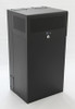 8U + 4U Vertical MiniRaQ Secure - Tall with Vented Bottom By Black Hawk Labs
