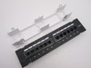 Cat6 Vertical Wall-Mount Mini Patch Panel 12 Port