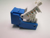 Cat5e RJ45 Toolless Keystone Jack Blue