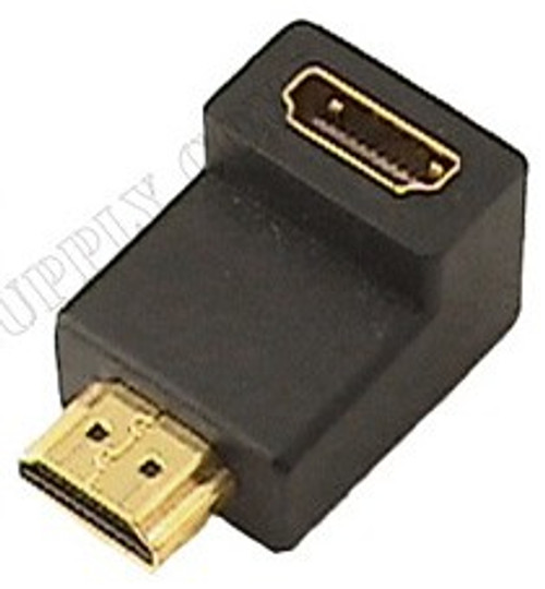 HDMI Female to Male Right Angle Adapter