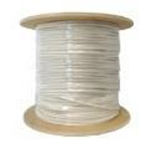 Cat7 Computer Network Cable Shielded 10G 1000ft RF/PVC Grey Bulk Cable