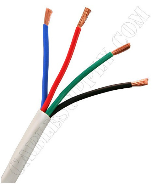 14 Gauge Speaker Cable 500 Foot White
