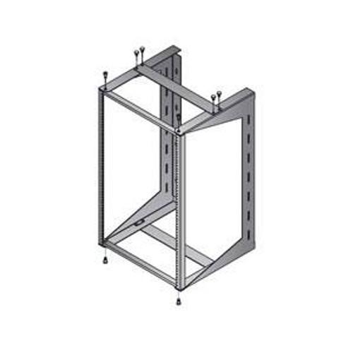 Panel Mount Swing Out Rack Wall Mountable 12U, 18U, or 24U by DAMAC