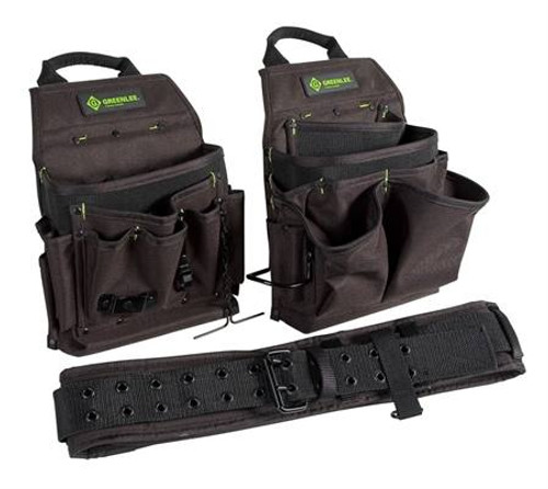 3 Piece Pouch and Belt Combo Pack by Greenlee