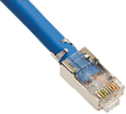 Cat6A 10 Gig Shielded Modular Plugs by Platinum Tools