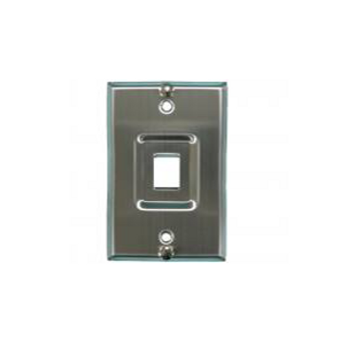 Stainless Steel Keystone Wallplate
