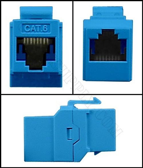 Cat6 RJ45 Keystone Computer Coupler Jack