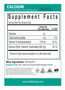 Nutritional Information 15 Calories 4 gms Carbohydrates Serving Size: 1 Scoop = 5.2 Grams