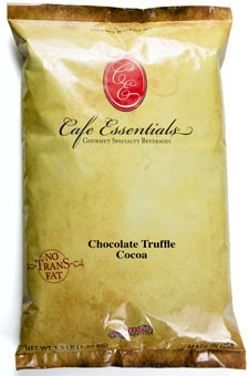 This rich cocoa features distinct milky notes with a chocolate truffle finish. This is your premium grade Euro-Swiss style milky hot cocoa. Barista formulation, made with milk.
