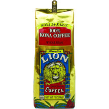 100% Kona Coffee beans from Hawaii's Kona Coast. Our Hawaiian Kona Coffee is selected from the best of the Kona Coffee harvests. These big, flavorful Kona Coffee beans are expertly roasted to produce a consistent and truly gourmet coffee when brewed. It will become a favorite.