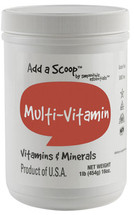 A smart diet will include vitamins and minerals from many sources, and the Smoothie Essentials Multivitamin Blend with your smoothie is an effective means of supporting your daily nutritional intake.