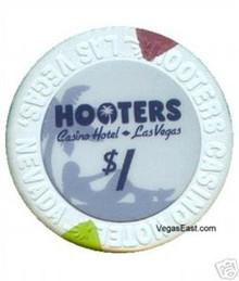 Hooters $1 Casino Chip Las Vegas Nevada