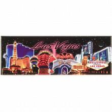Las Vegas Hotels Collage Photo Magnet