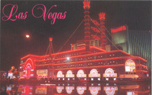 Harrah's Las Vegas Postcard Showboat