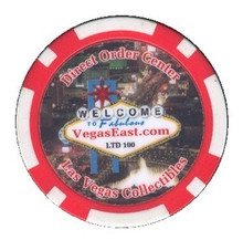 Direct Order Center VegasEast.com Promotional Casino Chip