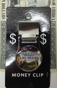 Las Vegas Welcome Sign Money Clip