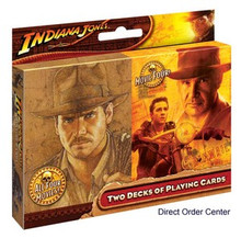 Indiana Jones Playing Cards 2 Decks Crystal Skull