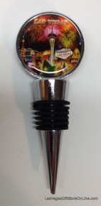 Las Vegas Hotels Fireworks Wine Bottle Topper