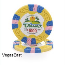 Dunes Hotel Las Vegas $1000 Commemorative Casino Chip