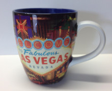 Las Vegas Welcome Sign Belly Coffee Mug Cup