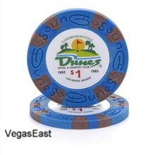 Dunes Hotel Las Vegas $1 Commemorative Casino Chip