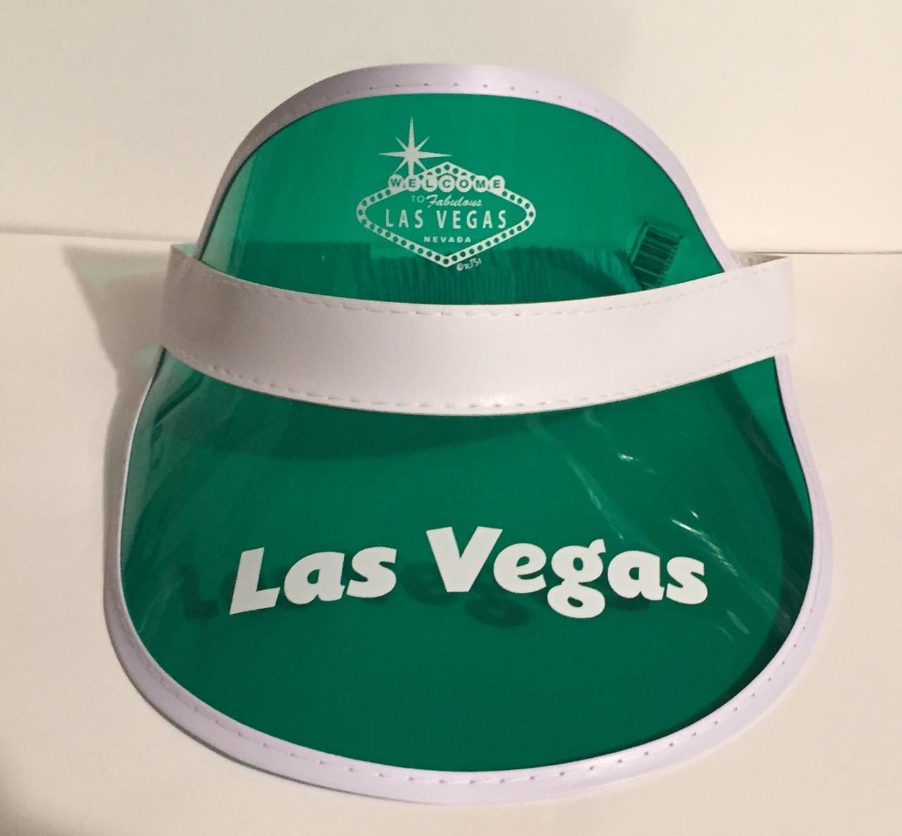 Poker visors green