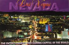 """Las Vegas Postcard 4"""" x 6"""" Las Vegas Strip"""
